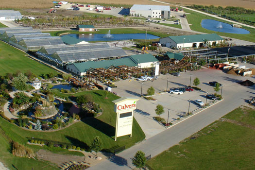 Culver's Landscaping Ariel View