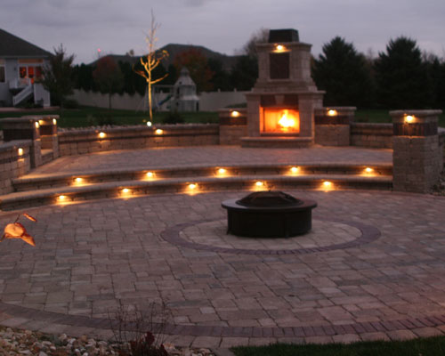 Amazing Landscaping   Outdoor Lighting
